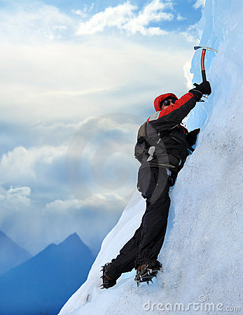 Free Mountain Climber Stock Images - 8712004