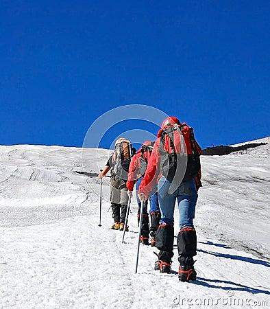 Free Mountain Climbers Stock Photos - 7657933