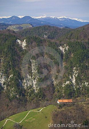 Mountain countryside