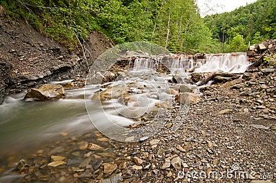 Mountain dam