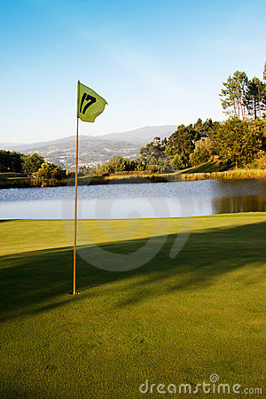 Free Mountain Golf Course Stock Photography - 10183382