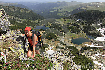 Mountain hiking, Romania