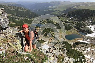 Mountain hiking, Romania