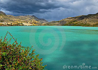 Mountain Lake, Chile