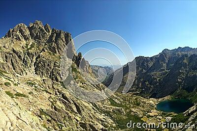 Mountain lake (Corsica - France)
