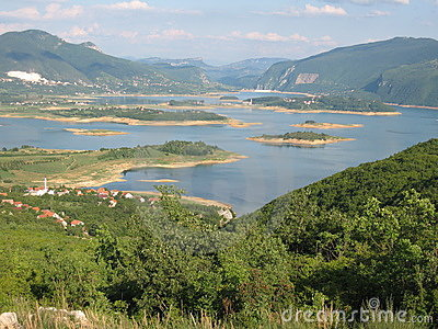 Mountain lake in Herzegovina