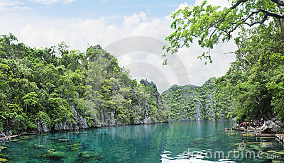 Mountain Lake, Palawan Philippines