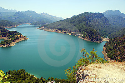 Mountain lake (Turkey)