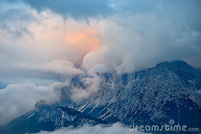 Mountain landscape - Dolomites, Italy