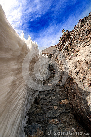 Free Mountain Landscape Near Volcano Teide Corridor Royalty Free Stock Photo - 39649885