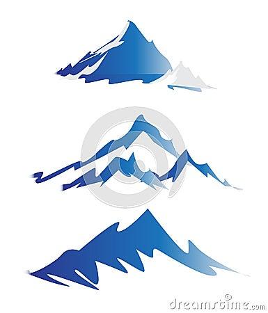 Free Mountain Logos Royalty Free Stock Image - 31756436