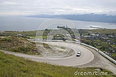 Mountain motorway.