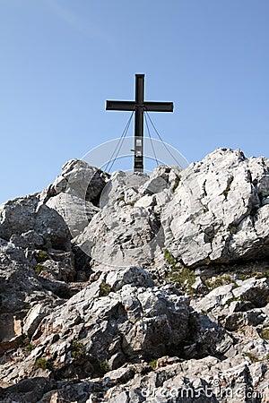 Mountain Peak Cross