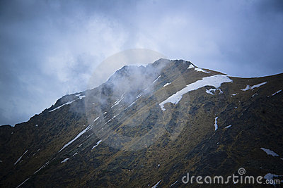 Mountain Peaks And Clouds Royalty Free Stock Photography - Image: 2517527