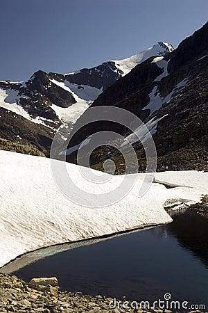 Mountain peaks, Norway