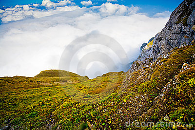 Mountain Pilatus in Switzerland