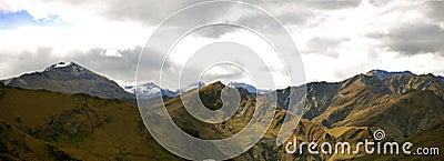 Mountain range panorama