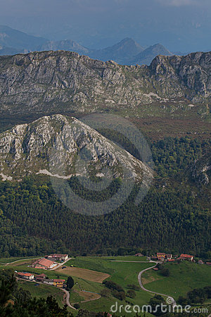 Mountain range of Sueve