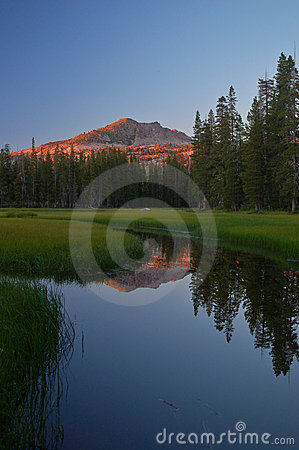 Mountain reflections