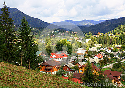 Mountain resort in Transcarpathia.