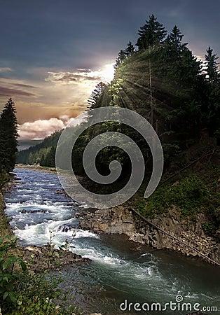 Free Mountain River Stock Image - 6258161
