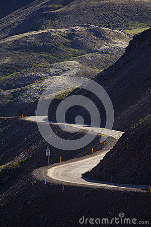 Free Mountain Road Royalty Free Stock Photography - 28108397