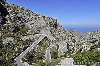 Mountain Road to Sa Calobra