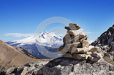 Mountain Rock Cairn