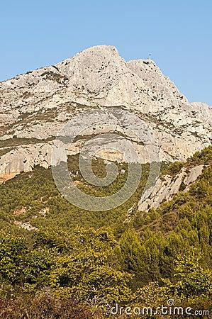 Free Mountain Sainte Victoire Stock Photography - 26806112