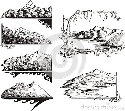 Mountain sketches