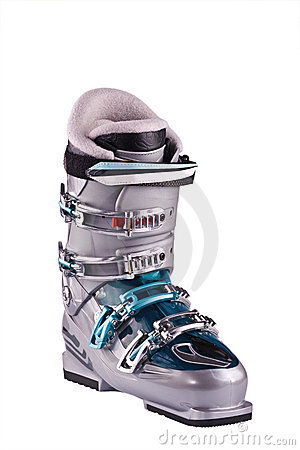 Mountain-skiing boot
