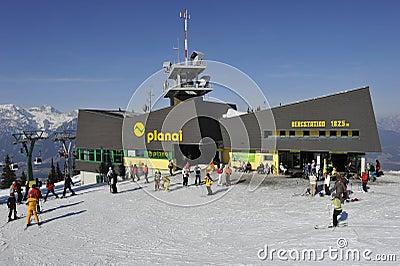 Mountain Station Editorial Stock Photo
