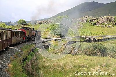 Mountain steam railway
