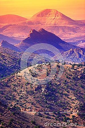 Free Mountain Sunset - Morocco Stock Photos - 2178813