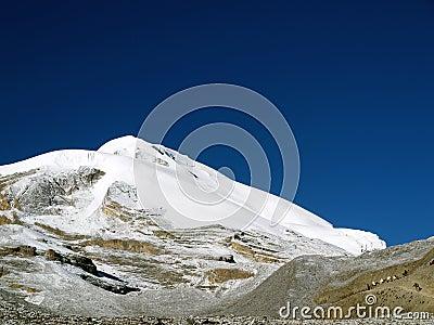 Mountain in Thorong La Pass