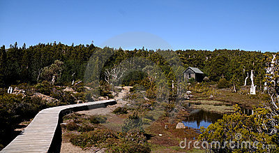 Mountain Trail and Hut