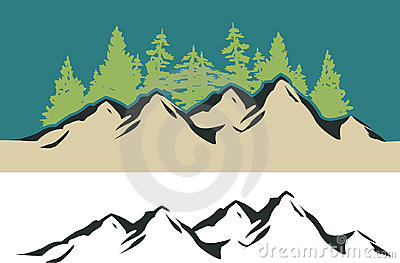 Mountain And Trees Stock Photos - Image: 18067063