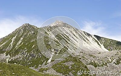 Mountain under sky  6