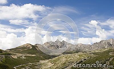Mountain under sky 7