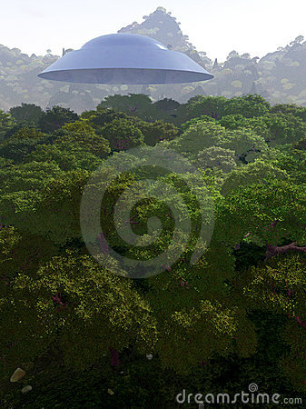 Mountain View com UFO 3