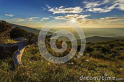 Mountain View During Sun Rise Under Blue Sky Photo Free Public Domain Cc0 Image