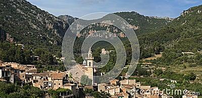 Valldemossa mountain village , Mallorca , Spain