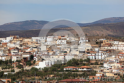 Mountain village in Andalusia