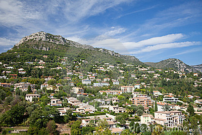 Mountain village in Provence