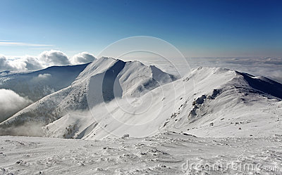 Mountain in winter - Slovakia