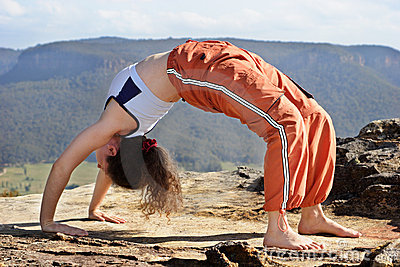 Mountain yoga 3