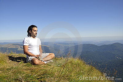 Mountain Yoga Meditation