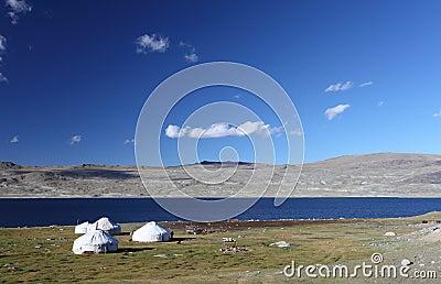 Mountain yurts