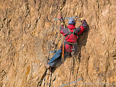 Mountaineering competition