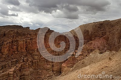 Mountainous desert of Arava